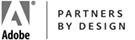 Adobe Partners by Design Partnership Logo