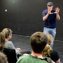 Matt Lillard with VFS Acting alumni