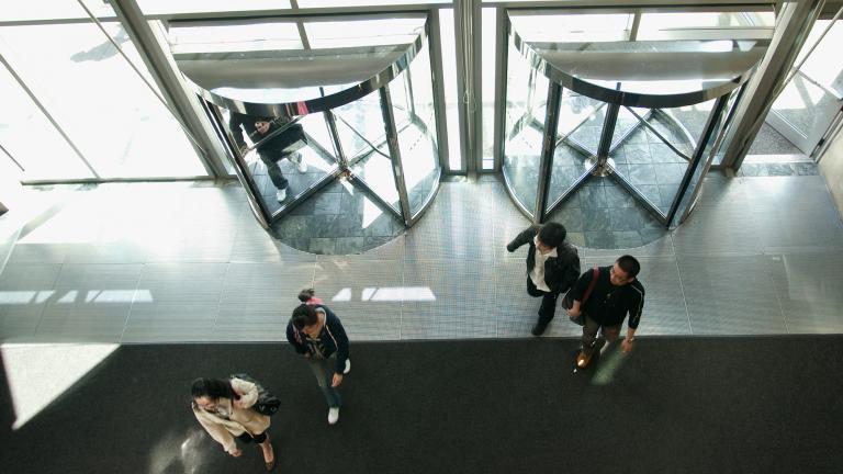 BCIT Campus Lobby Photo