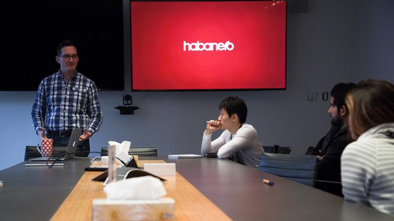 Students visit Habanero agency