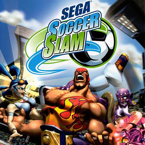 Sega Soccer Slam poster, Game Design staff credits