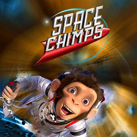 Space Chimps poster, Animation and Visual Effects staff credits