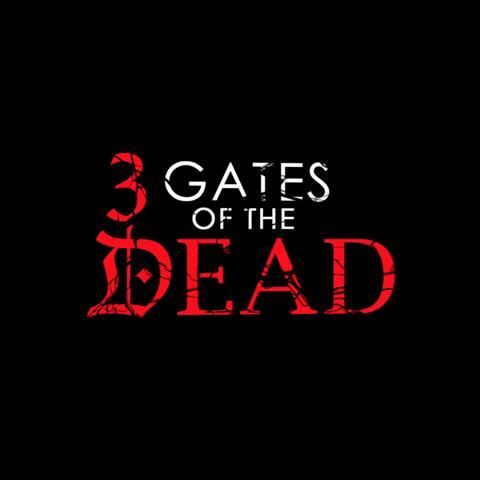 3 Gates of the Dead poster, Foundation Visual Art and Design staff credits