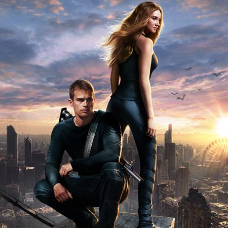Divergent poster, Animation and Visual Effects staff credits