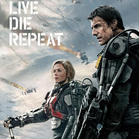 Edge of Tomorrow poster, Animation and Visual Effects staff credits