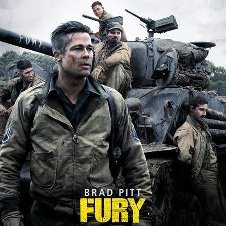 Fury poster, Animation and Visual Effects staff credits