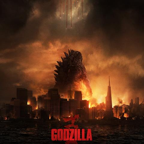 Godzilla poster, Animation and Visual Effects staff credits