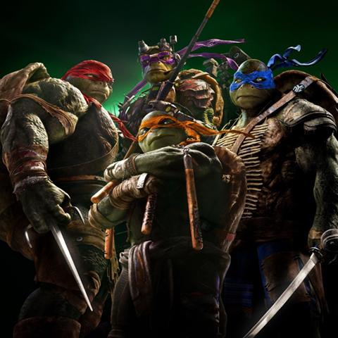 Teenage Mutant Ninja Turtles poster, Game Design staff credits