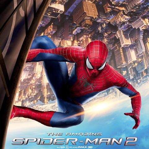 The Amazing Spider-man 2 poster, Animation and Visual Effects staff credits