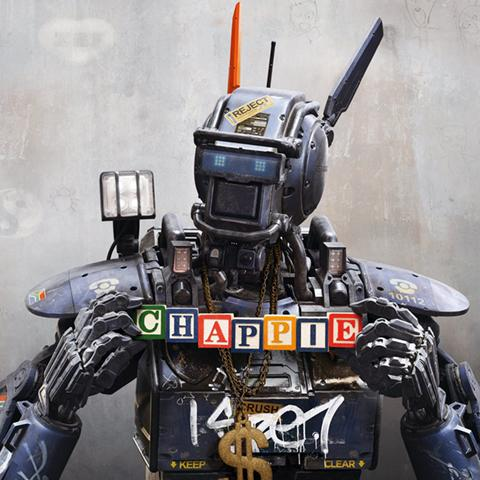 Chappie poster, Animation and Visual Effects staff credits