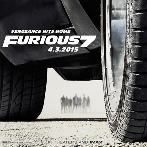 Furious 7 poster, Animation and Visual Effects staff credit