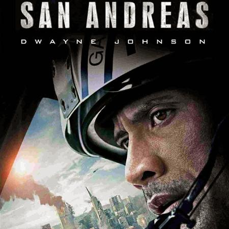 San Andreas poster, Animation and Visual Effects staff credits