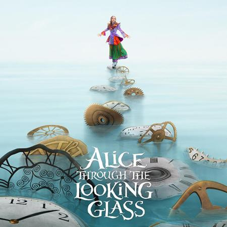 Alice Through the Looking Glass poster, Animation and Visual Effects staff credits