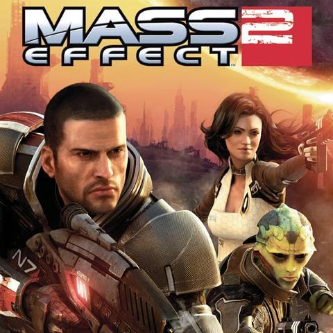 Mass Effect 2 poster, Game Design alumni credits