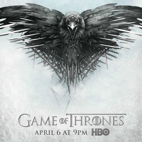 Game of Thrones poster, Foundation Visual Art and Design alumni credits