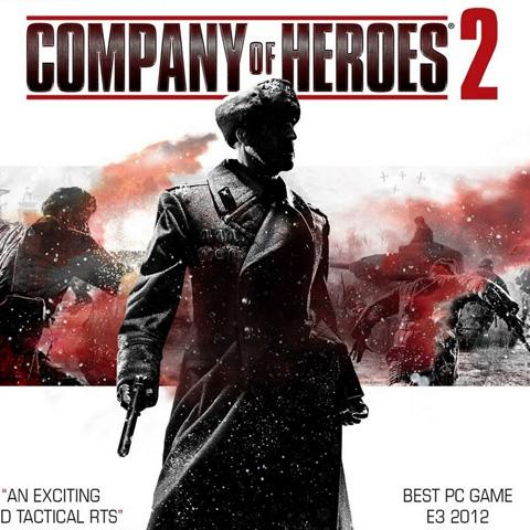 Company of Heroes 2 poster, Game Design alumni credits