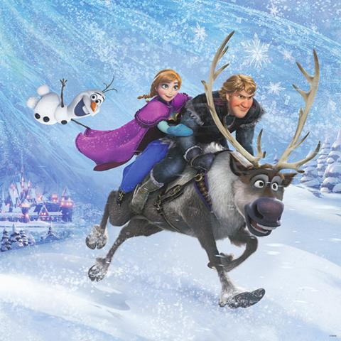 Frozen poster, Animation and Visual Effects alumni credits