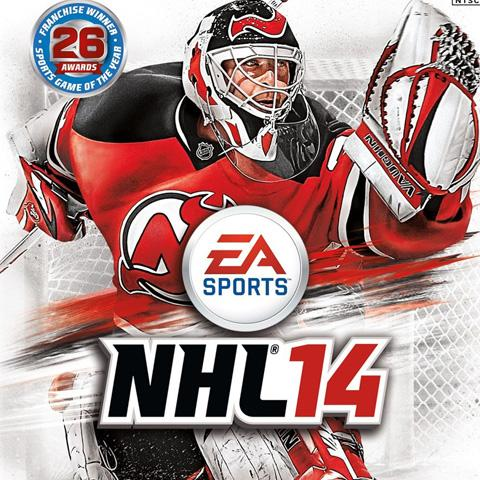 NHL 14 poster, Game Design alumni credits