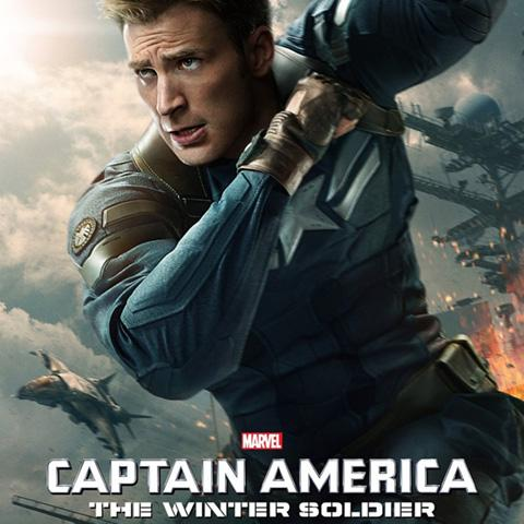 Captain America: The Winter Soldier poster, Film Production alumni credits