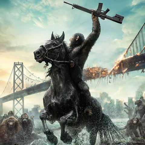 Dawn of the Planet of the Apes poster, Film Production alumni credits