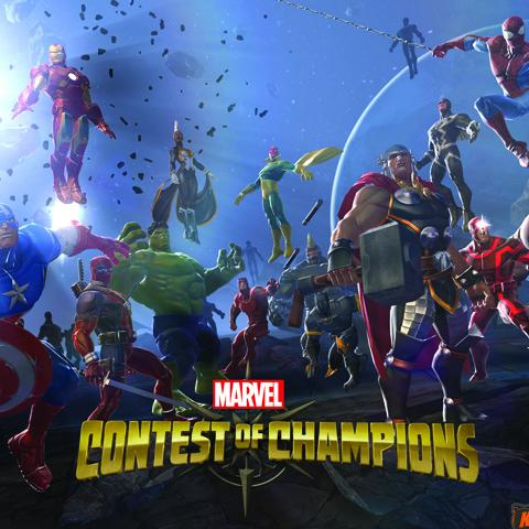 Marvel Contest of Champions poster, Game Design alumni credits