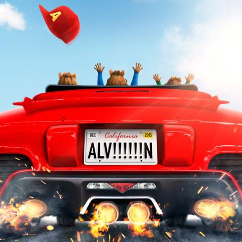 Alvin and the Chipmunks: Road Chip poster, Animation and Visual Effects alumni credits