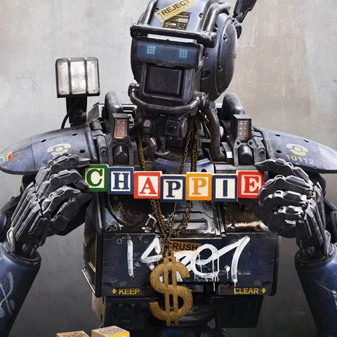 Chappie poster, Foundation Visual Art and Design alumni credits