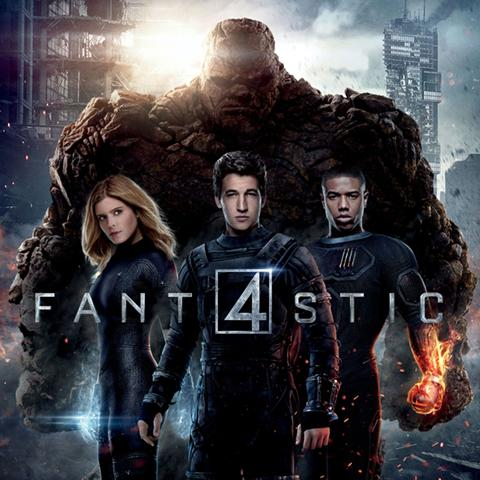 Fantastic 4 poster, Animation and Visual Effects alumni credits