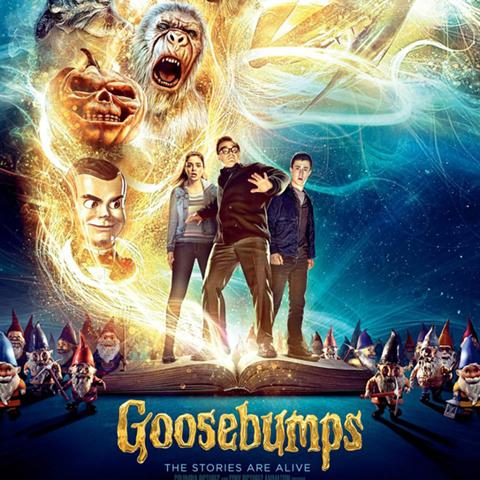 Goosebumps poster, Animation and Visual Effects alumni credits