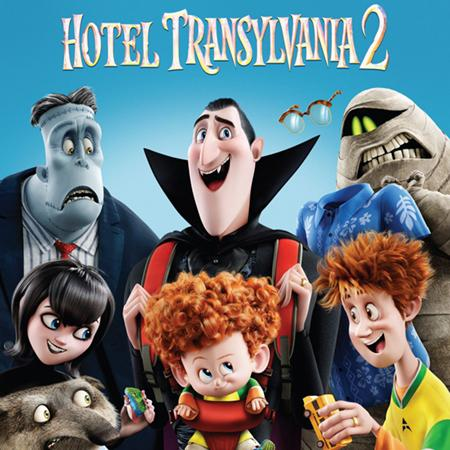 Hotel Transylvania 2 poster, Animation and Visual Effects alumni credits