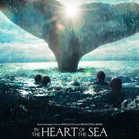In the Heart of the Sea poster, Animation and Visual Effects alumni credits