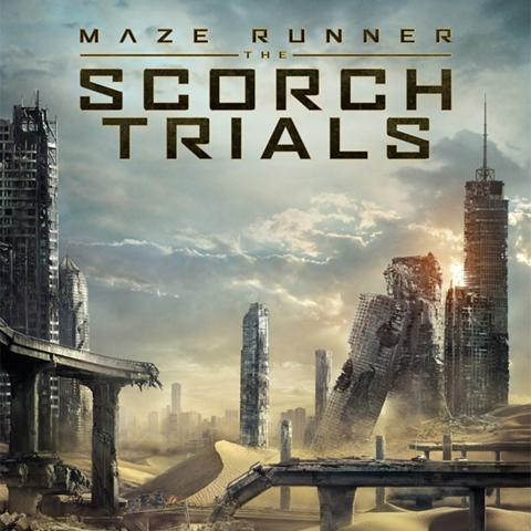 Maze Runner: The Scorch Trials poster, Foundation Visual Art and Design alumni credits