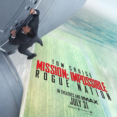 Mission Impossible: Rogue Nation poster, Animation and Visual Effects alumni credits