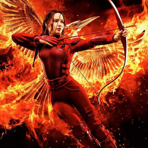Hunger Games: Mockingjay Part 2 poster, Foundation Visual Art and Design alumni credits