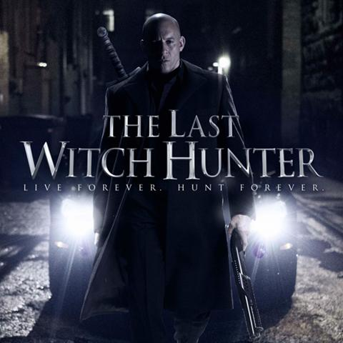 The Last Witch Hunter poster, Foundation Visual Art and Design alumni credits