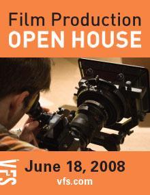 Film Production Open House, June 18