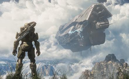 Halo 4 artwork by Ryan Watkins